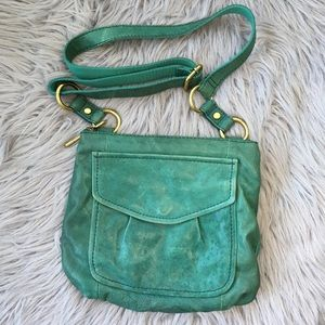 Fossil Lamb Leather Long Live Vintage Crossbody